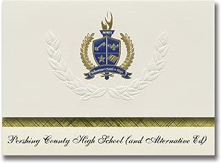 Annonces de signature Pershing County High School (et Alternative Ed) (Lovelock, NV) Annonces de diplôme, Pack présidentie...