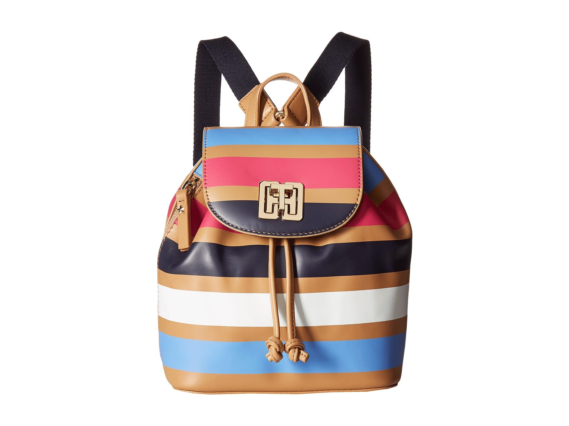 Mochila para Mujer Tommy Hilfiger TH Twist Stripe Backpack  + Tommy Hilfiger en VeoyCompro.net