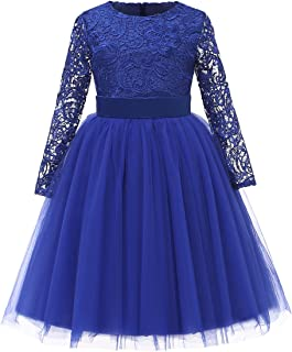 blue party dress for girl