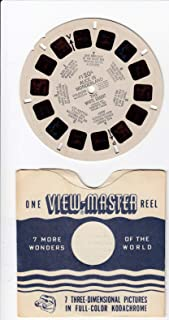 View Master Alice in Wonderland The White Rabbit 1952 Viewmaster Reel #FT20A