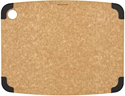 Epicurean Non-Slip Series Cutting Board 14.5-Inch by 11.25-Inch Natural/Slate