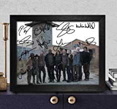 The Walking Dead Signed Autographed Photo 8X10 Reprint Rp Pp - Norman Reedus [Daryl Dixon], Andrew Lincoln [Rick Grimes], Steven Yeun [Glenn Rhee], Danai Gurira [Michonne], Melissa Mcbride [Carol Pel