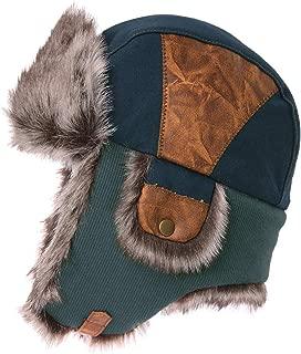 Unisex Faux Fur Winter Bomber Trapper Earflaps Ushanka Russian Hat 56-61cm