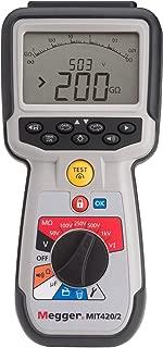 Megger MIT420/2 (1006-740) Insulation/Continuity Tester w/Storage, PI, DAR 50V/100V/250V/500V/1000V
