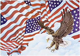 Hoffmaster 998844 Placemat Length Patriotic