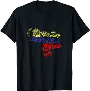 Venezuela shirt map tricolor venezuela shirts