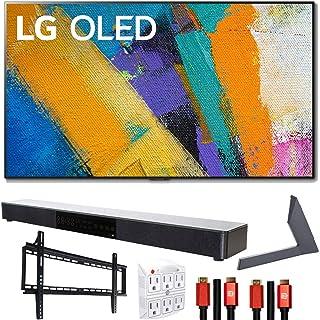 "LG OLED55GXPUA 55"" GX 4K OLED TV w/AI ThinQ (2020) with Stand and Soundbar Bundle"