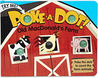Melissa & Doug Children's Book | Poke-a-Dot: Old MacDonald's Farm | Educational Board Book with Buttons to Pop | 3+ | Gift...