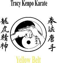 Tracy Kenpo Yellow Belt