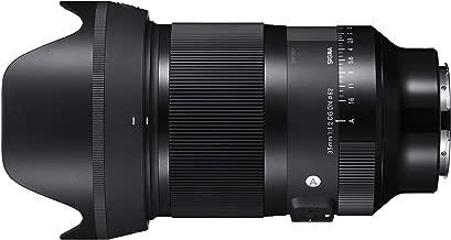 Sigma 35mm f/1.2 DG DN Art Lens for Sony E Lens