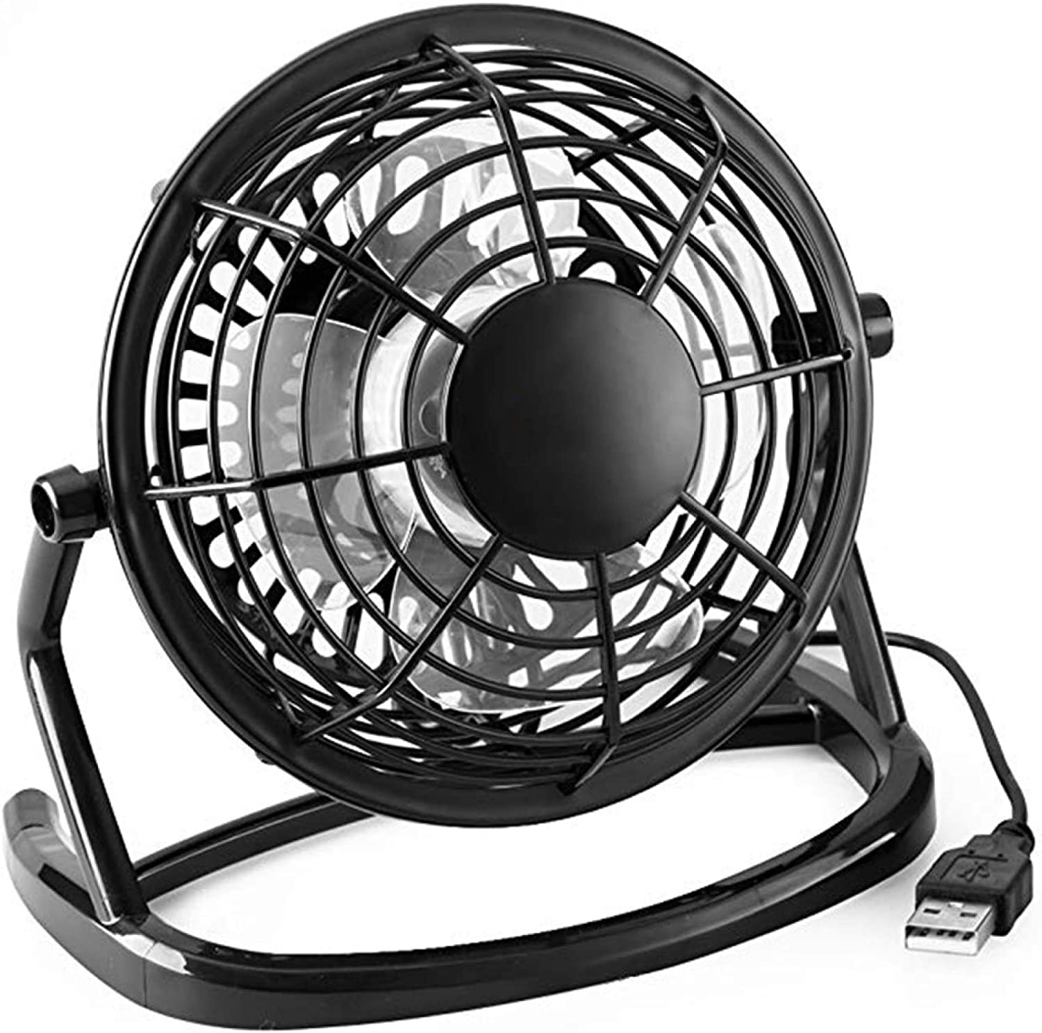USB Powere Mini Desktop Electric 360 Degree Spring new work Rotatation With Fan Max 86% OFF