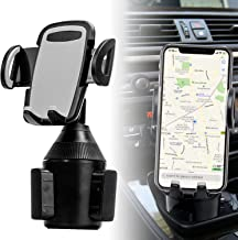 Car Cup Holder Phone Mount Phone Cradle Car Mount for iPhone XR/XS Max/X/8/7 Plus/6s/Samsung Galaxy S10+/Note 9/S8 Plus/S7 Edge (Grey)