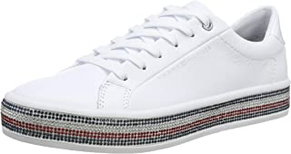 Tommy Hilfiger JEWELED, Women's Sneakers, White
