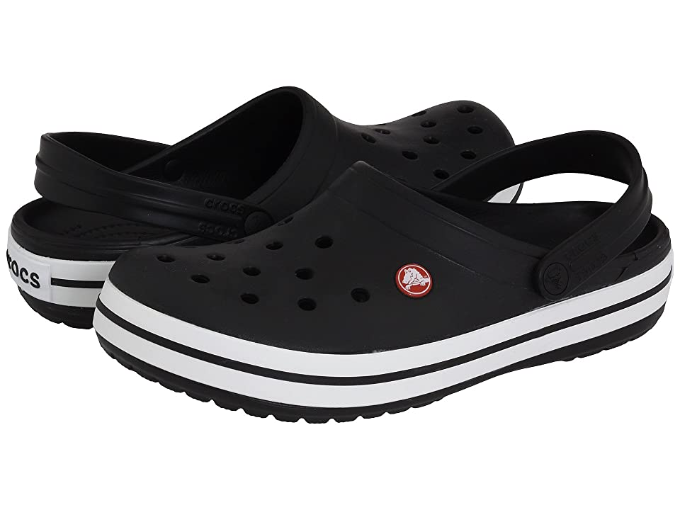 Crocs Crocband Clog (Black) Clog Shoes