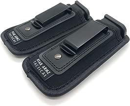 Bear Armz Tactical Universal IWB Magazine Pouch 9mm .40 .45 | Mag Holster for Glock 19 43 17 Sig 320 S&W M&P Shield | Fits 7 10 15 Round Pistol Mags | Gun Ammunition Holsters | Handgun Ammo Pouch