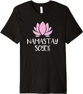 Cute Awesome Namastay Sober Premium T-Shirt