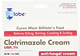 (3 Pack) Clotrimazole Anti Fungal Cream, 1% USP Compare to Lotrimin 1oz.