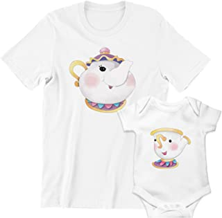 Camiseta Body Conjunto Mamá Niño Niña Chip Potts Regalo Original Día de La Madre