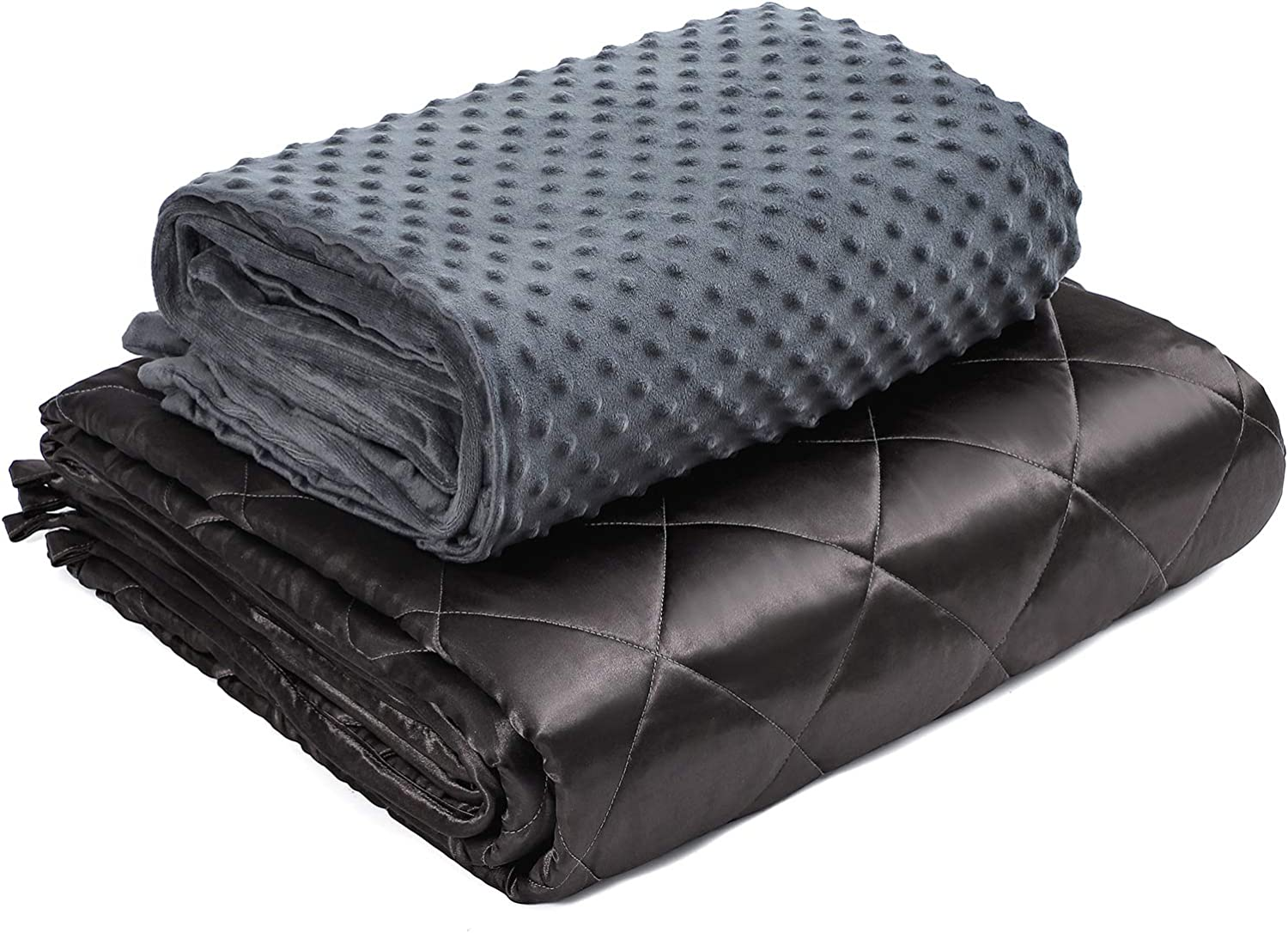 Argstar Breathable Silky Satin 与え Removable Blanket 国際ブランド Warm Weighted