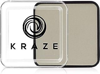 Kraze FX Square - Neonwit (25 gm) - Watergeactiveerd, professionele UV-glow Blacklight Reactieve schminkkleuren, hypoaller...