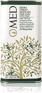 O-Med Arbequina Extra Virgin Olive Oil - 1000 ML (33.8 Fl Oz)