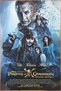 PIRATES OF THE CARIBBEAN DEAD MEN TELL NO TALES MOVIE POSTER 2 Sided ORIGINAL INTL FINAL 27x40
