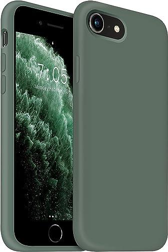 OUXUL iPhone SE 2020 CaseiPhone 7/8 Phone caseiPhone 7 case Liquid Silicone Gel Rubber Phone CaseiPhone SE 2020/8/7 4.7