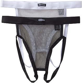 Sexy Men's G-Strings Thongs Underwear Mesh Fishnet Jockstrap Panties Pack of 2