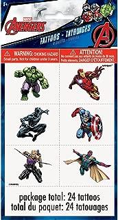 Avengers Tattoos, 24ct