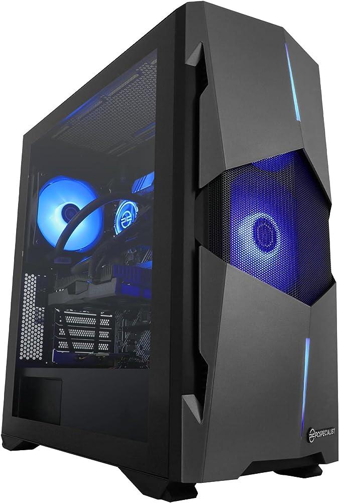 Pcspecialist pc fisso gaming intel® core™ i7 geforce rtx 2060 6gb 8-core 16 gb ram 1tb m.2 ssd PRISM-X_PRO_2060