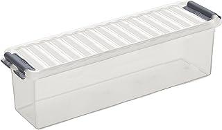 Sunware Q-Line Boîte de rangement Transparent métallisé Taille unique
