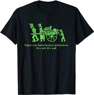 Pioneer Day Video Game Tshirt Funny LDS Mormon Trek Shirt