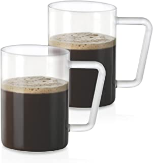 Borosil CLASSIC GRANDE BEER MUG SET 500 ml SET OF 2, clear, BVNABBMG500