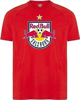 Red Bull Salzburg Crest Star T-Shirt, Herren - Official Merchandise