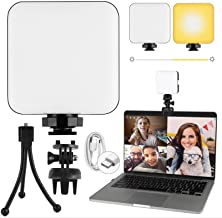 Video Conference Lighting Kit, APLOS Rechargeable Zoom...