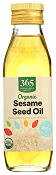 365 by WFM Unrefined Expeller-Pressed Sesame Oil