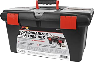 Performance Tool W54019 Plastic Tool Box, 19