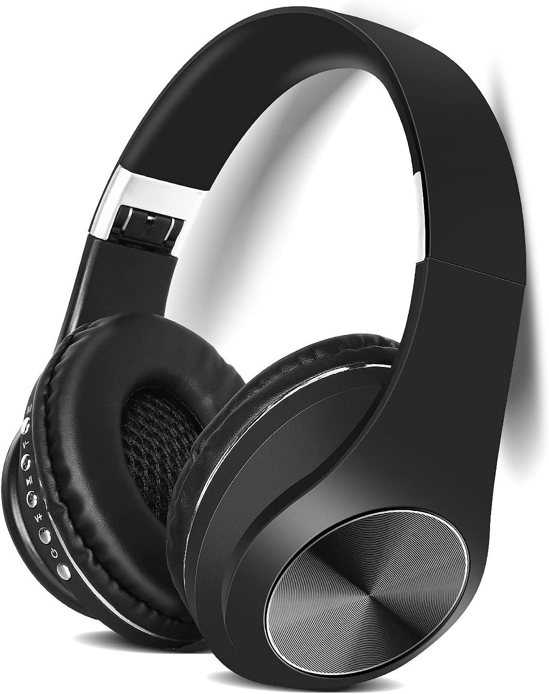 Indefinitely UrbanX UX991 Wireless Deluxe Industry Headphones Overhead with Leading