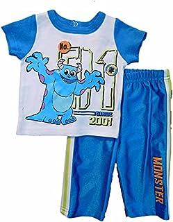 Disney Baby乳児-新生児Monsters 2Piece Pant Set