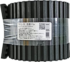 WAKI 防振ゴムロング 10mmX100mmX1000mm BGL-02