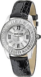 Roberto Cavalli - Fugit R7251147645 - Reloj de Mujer de Cuarzo, Correa de Piel Color Negro