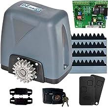 Motor Para Portão Eletrônico Dz Nano 36 Turbo 600kg 1/4 HP Rossi 4 Metros e Meio de Cremalheira (220)