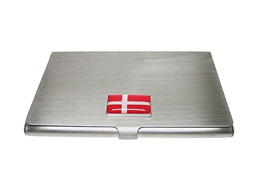 句空カラスデンマーク国旗名刺ホルダー