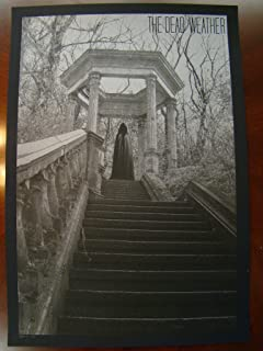 Jack White Music Poster Dead Weather Seattle 09 Slater