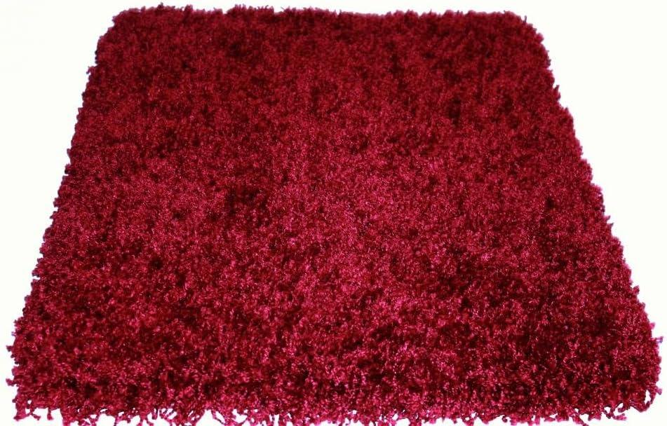 12'x14' Candy Shag Red Peppermint Elegant Rug Indoor Portland Mall Ultra Area