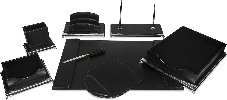 Majestic Goods Organizer gift Executive Black Desk Max 71% OFF Office