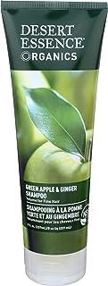 Desert Essence Organic Green Apple & Ginger Shampoo, 8oz-8 Ounces