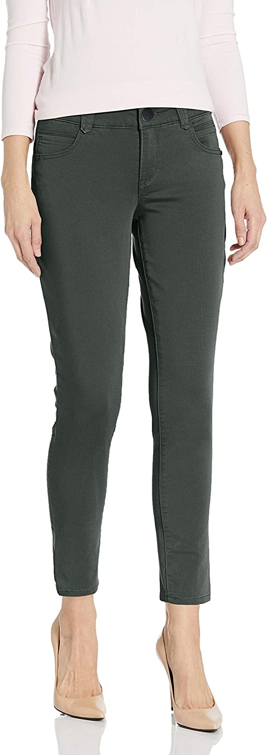 Democracy Women's Ab Solution Twill Super sale period limited Ankle Max 88% OFF Pant Length