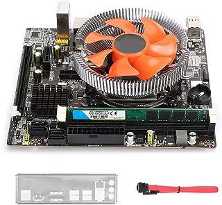 Wendry Placa Base de PC, Juego de Placa Base de Escritorio i5, Placa Base B75, Memoria 4G Dual-USB 3.0 SATA3 Partes de computadora, Soporte de transmisión de Alta Velocidad