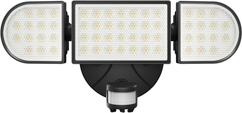 Onforu 55W LED Flood Light Outdoor Sensor 70% OFF Outlet Motion with 2021 model Su 5000lm